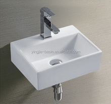 YJ9135 Foshan sanitary ware supplier new design round shape above counter mounting mini wash basin