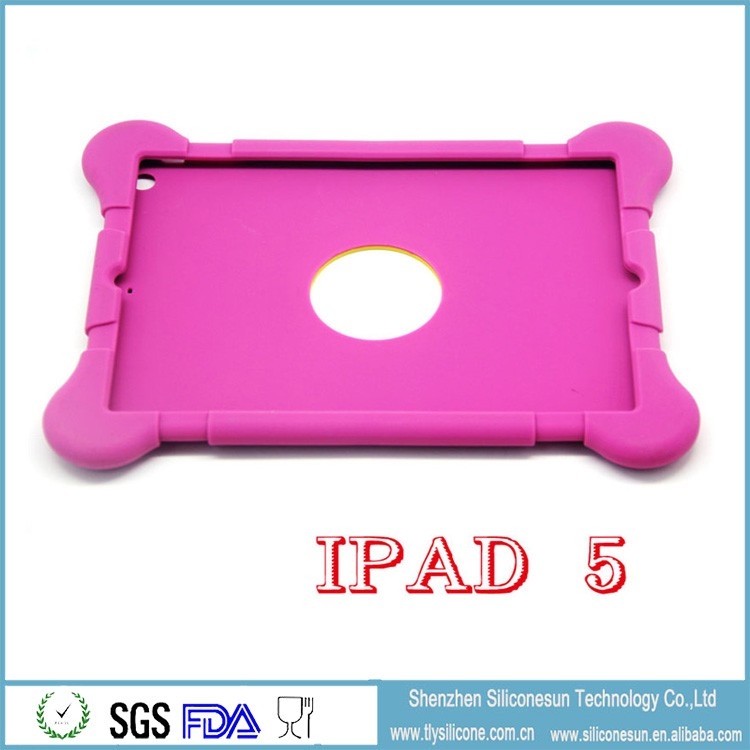 Drop resistance anti-slip soft silicone case cover for pad2/3/4/5