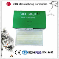 Adult Size Hot Sale Disposable 3 Ply Food Service Face Mask