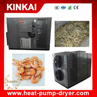 Commercial dried fish / shrimp dryer machine with hot air circulating system