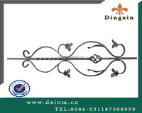 Euopean cast iron ornament used metal door inserts and steel gate designs for sale
