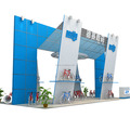 Detian Display offer used trade show booth, modular exhibition display stand from china factory