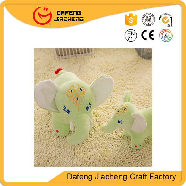 Wholesale Kids Gift Large Animal Big Ears Stuffed Elephant Plush Toy