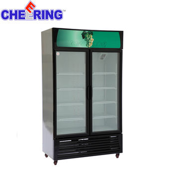 store showcases Single -Door Refrigerated Showcase glass display cases uk retail glass display cases