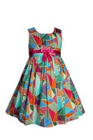 sleeveless frock design baby clothes