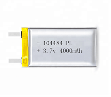 factory price 104482 polymer lithium battery 4000mAh li-ion battery 3.7v