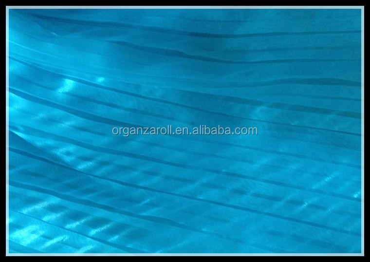 polyester crinkle crystal organza besting selling in dubai children dress fabric