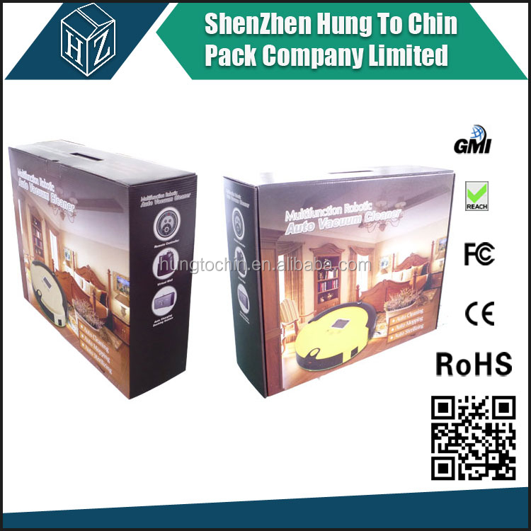 Corrugated manufacturer custom design full color laminated colored moving boxes