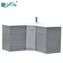 Stainless steel Dental Furniture Combination 3 pcs cabinet for sale