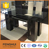 Glass Top Marble Base Dining Room