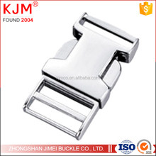 Strong pulling high quality side release metal buckle for belt