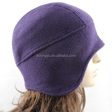 wholesale ladies polar fleece winter hat with earmuff