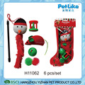 Season Pet Gift Toy XMAS Cat Stocking Toy