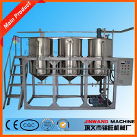 High quality edible oil refining/durable top sale peanut oil refinery machine