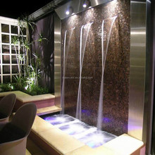 Modern Art Indoor Artificial Waterfall Fountain