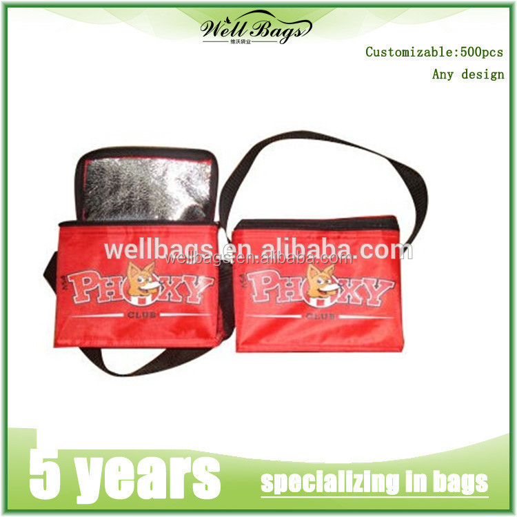 hot selling portable style insulated beer cooler bag for promotion