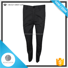 Hot sale restaurant uniform,high quality cook hotel trousers,black kitchen chef pants