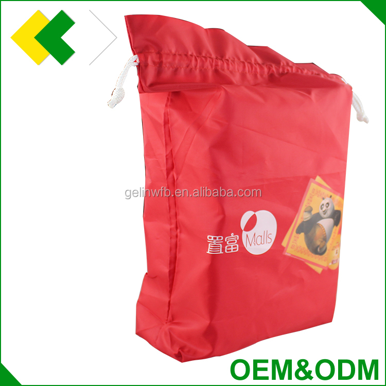 oem / odm promotional custom printed polyester shopping bag Canvas Cotton nonwoven nylon polyester drawstring bag