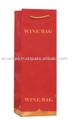 WINE BAG WITH CUSTOM LOGO