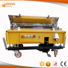 Factory in china best rendering machine/spray on plaster with best price