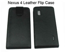 Hot Selling Flip Leather Case for Google for LG Nexus 4
