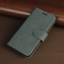 synthetic leather stand folio case multi-function protective folding cover for lenovo k5 drop protect cover