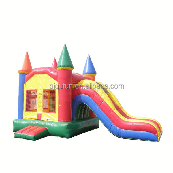 fun childrens inflatable bounce house with slide,amazing bouncer&slide S4