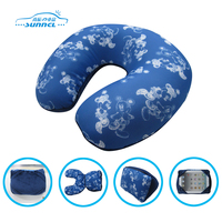 OEM available versatile bean bag neck pillow
