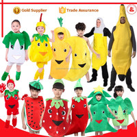 party simple fruits fancy dress mascot costumes vegetable fruit costumes for kids