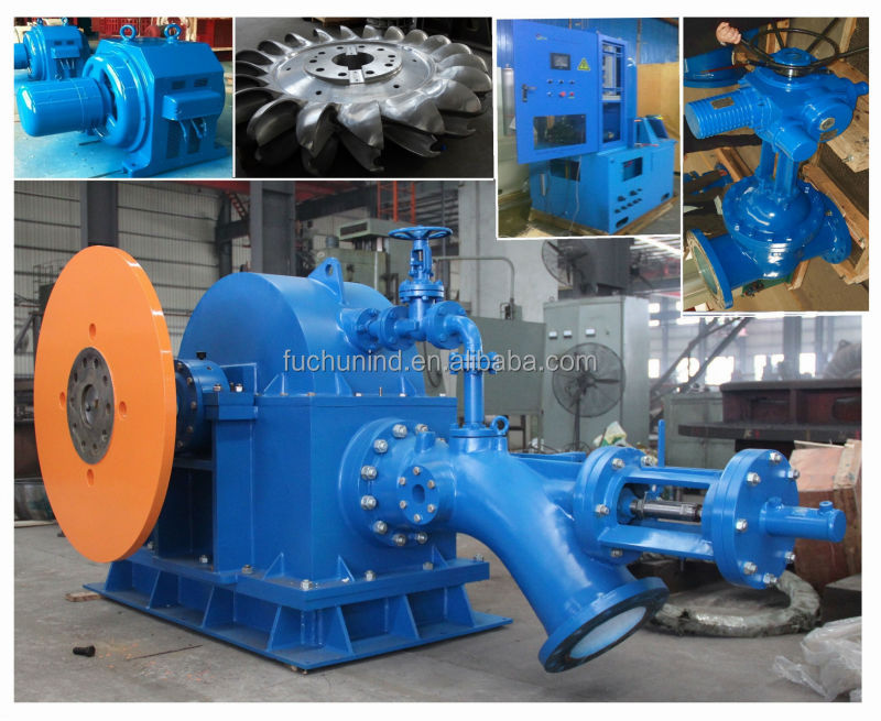 Hydro Power Plant/Water Turbine Generator for Power Plant