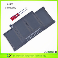 "A1405 laptop battery for Macbook Air 13"" A1466 2012 7.3V 50Wh"