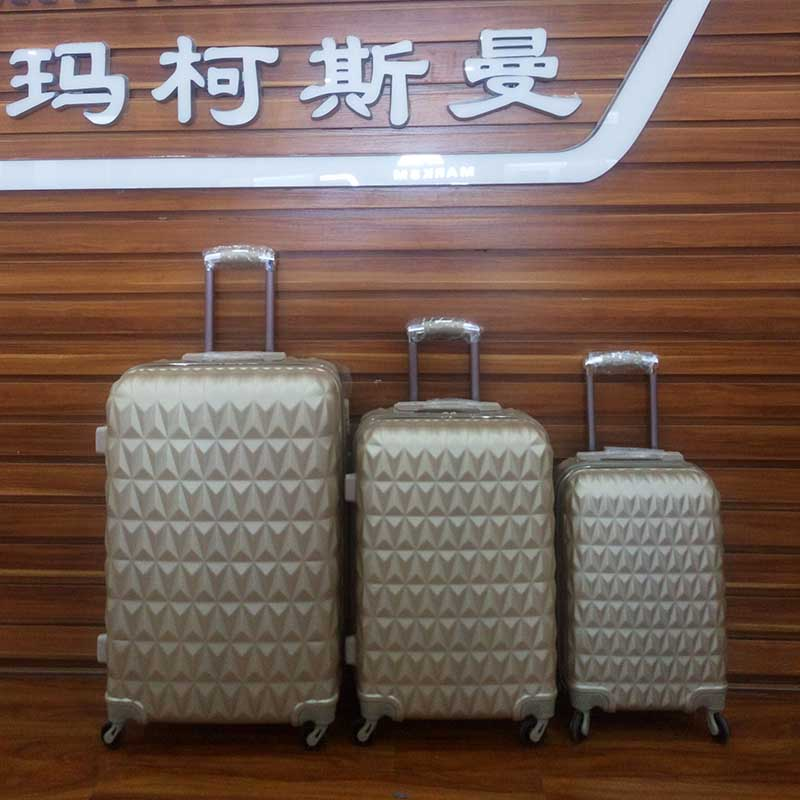 "Good price size 12""20""24""28"" luggage ABS material hot sale luggage bag"