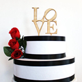 laser cut through cake topper wedding party supplies wholesale china