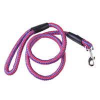 Pet Dogs Leads Strong Dog Pet Braided Nylon Rope Lead Leash Durable Heavy Duty L