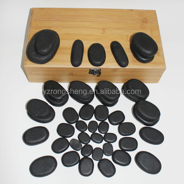 Smooth Volcanic SPA Natural Stone Massage cheap cheap foot stone massager