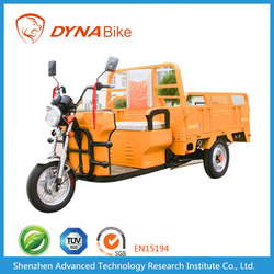 Top Sale 12*4.0 Tyre Three Wheel Electric Truck Cargo Tricycle