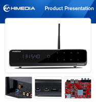 HiMedia best selling HDMI2.0 output android 5.1 smart tv box support KODI pre-installed RAM 2GB DDR3+16GB eMMC Flash.