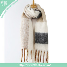 Factory price thick pashmina women warm scarf