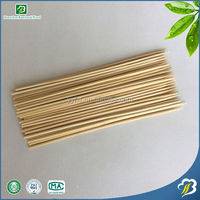 20cm long disposable grill needle bbq bamboo stick, bamboo party skewers one-off round sticks for meat, food or long caterings