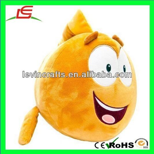 LE h1802 new bubble guppies grouper plush doll figure 14'' fish gold