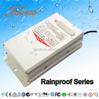 Rainproof High power LED Driver Constant voltage 12Vdc 400W RVG-12400D1380