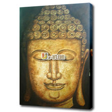 Wholesale Buddha Oil Painting on Canvas 3D Religious Wall Art