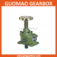 With selflock function trapezoid thread worm screw gearbox jacks