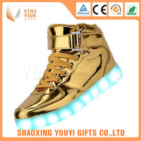 OEM factory wholesale kids led flash shoes