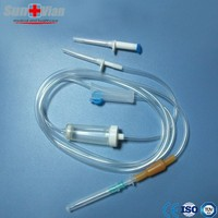 Sale SV204 Sterile infusion giving set with two stainless steel spike
