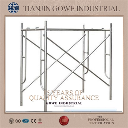 Main frame scaffolding system with Joint pin