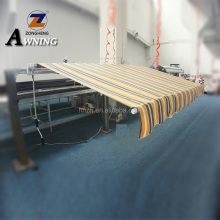 Polyester Sail Material retractable awning used for sale