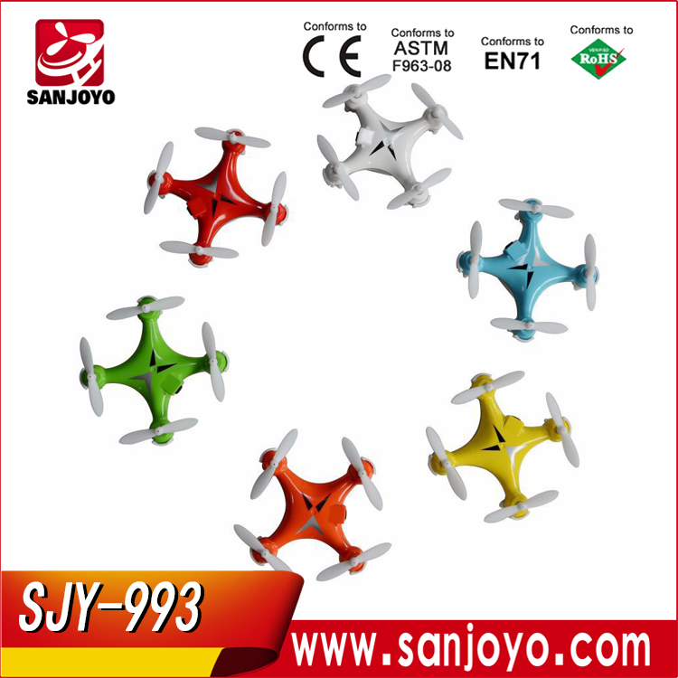Hot Selling Cheap Drone SJY-993 Small Drone 2.4G Wholesale Toys Mini Rc Helicopter Accept OEM Quadcopter
