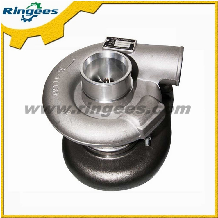 gold supplier china Turbocharger suitable for Caterpillar E3412E/SR4/TV8116 excavator, CAT Turbo engine 3412