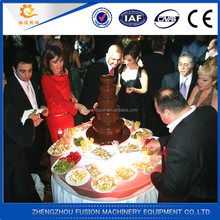 Factory Price party chocolate fountains/chocolate fountain supplies